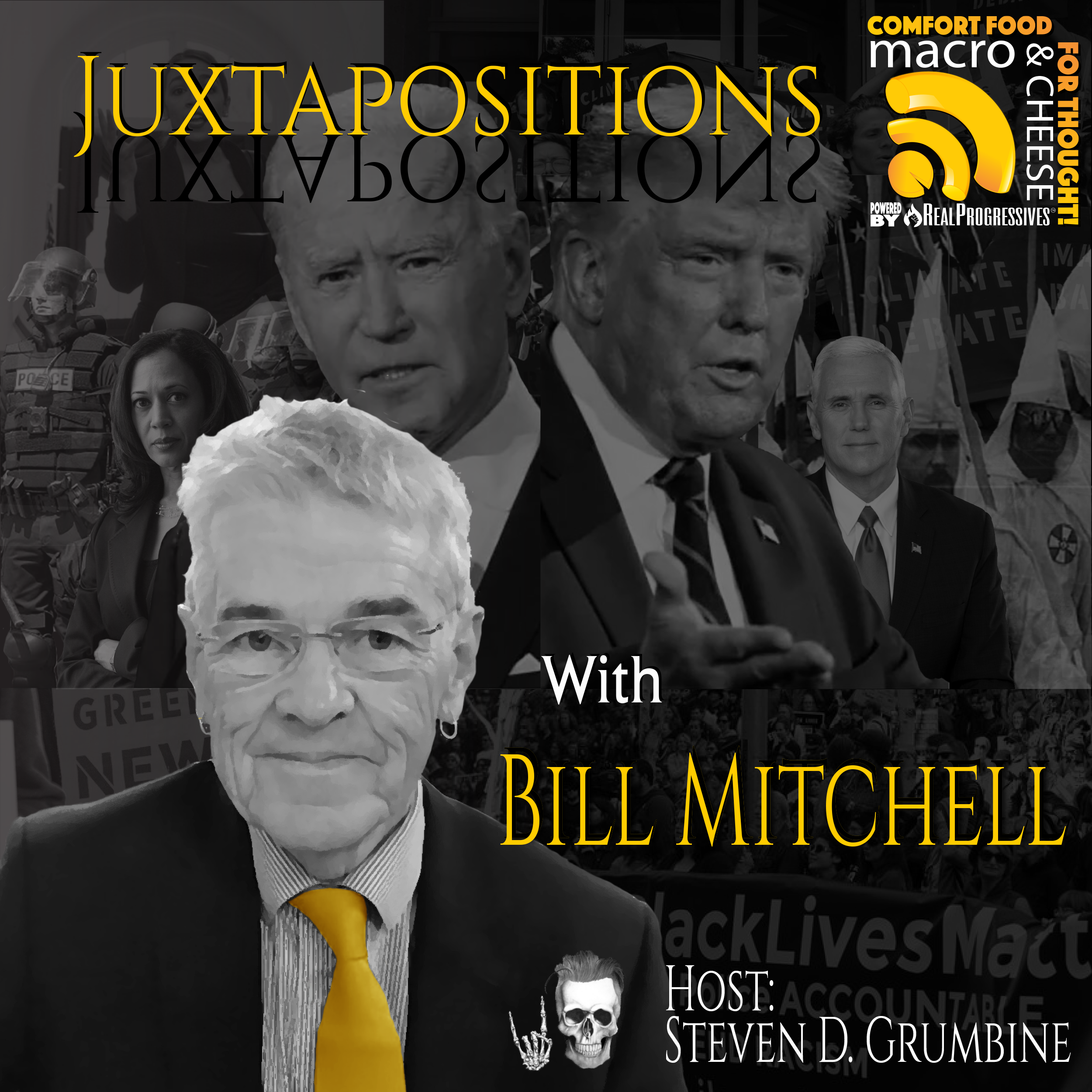 Juxtapositions with Bill Mitchell