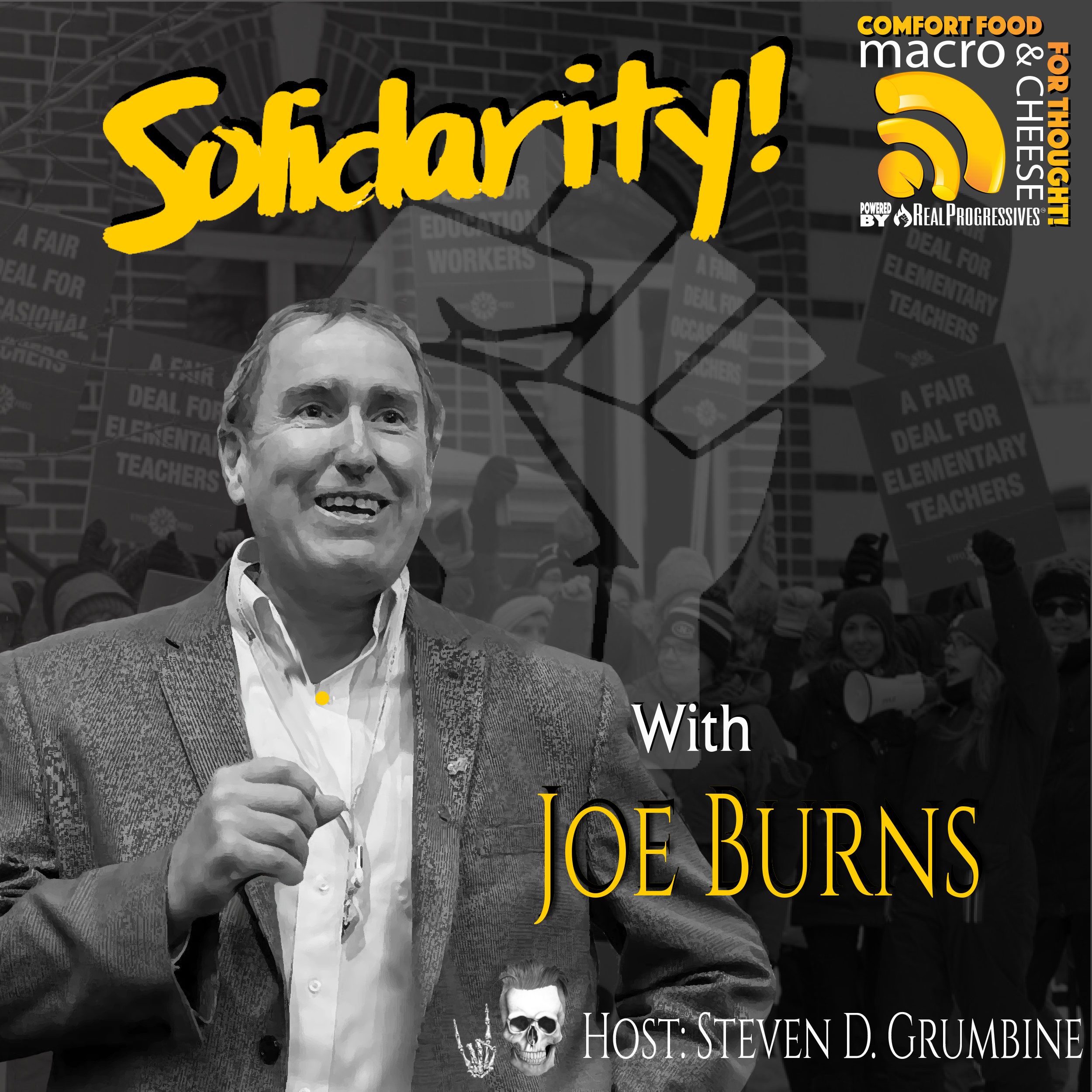 Solidarity with Joe Burns