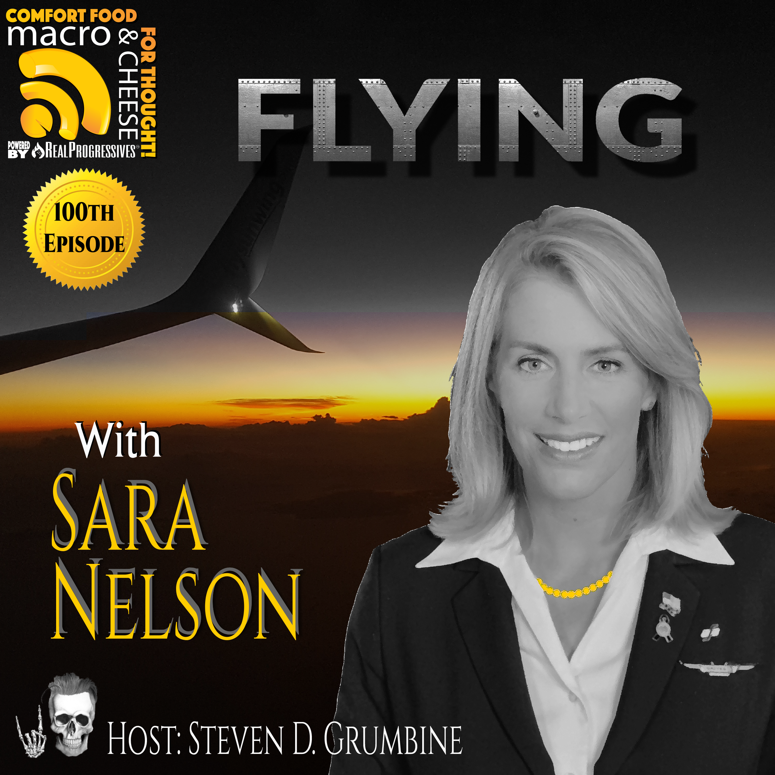 Flying with Sara Nelson